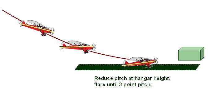 3 point tailwheel landings