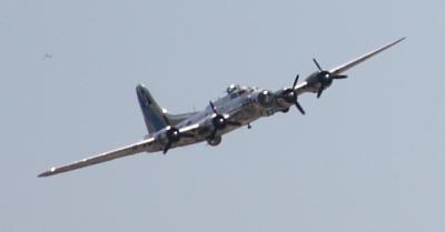 B-17 aerial
