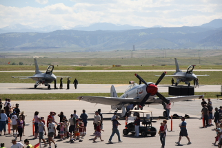 Rocky Mountain Metro Airport Open House F-16s