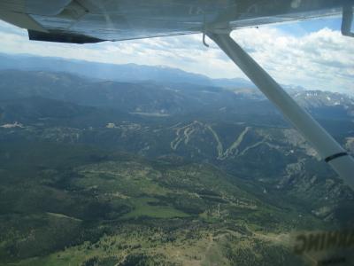 Eldora Ski Area Aerial