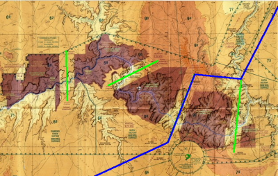Grand Canyon and PGA-IFP modified route