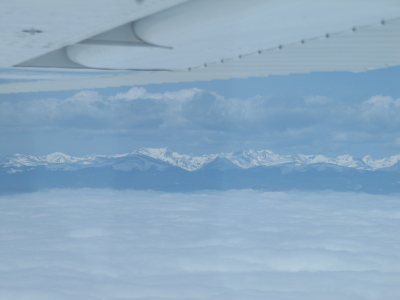 IFR above the clouds picture