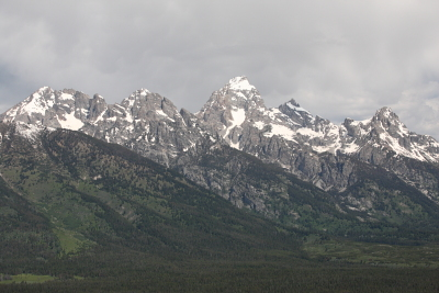 Tetons Aerial Photo