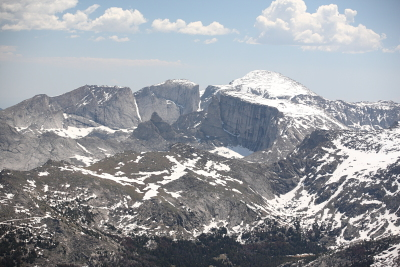 Wind River Range Aerial Photo