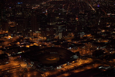Denver Xmas Lights Aerial